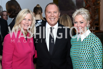 Susan Blumenthal, Michael Kors, Mary Ourisman. Photo by Tony Powell. 2016 McGovern-Dole Leadership Award. OAS. April 12, 2016
