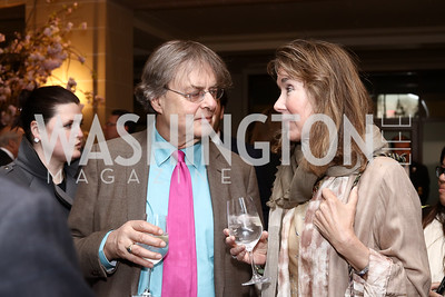 Andrew Cockburn, Leslie Cockburn. Photo by Tony Powell. 2016 McGovern-Dole Leadership Award. OAS. April 12, 2016