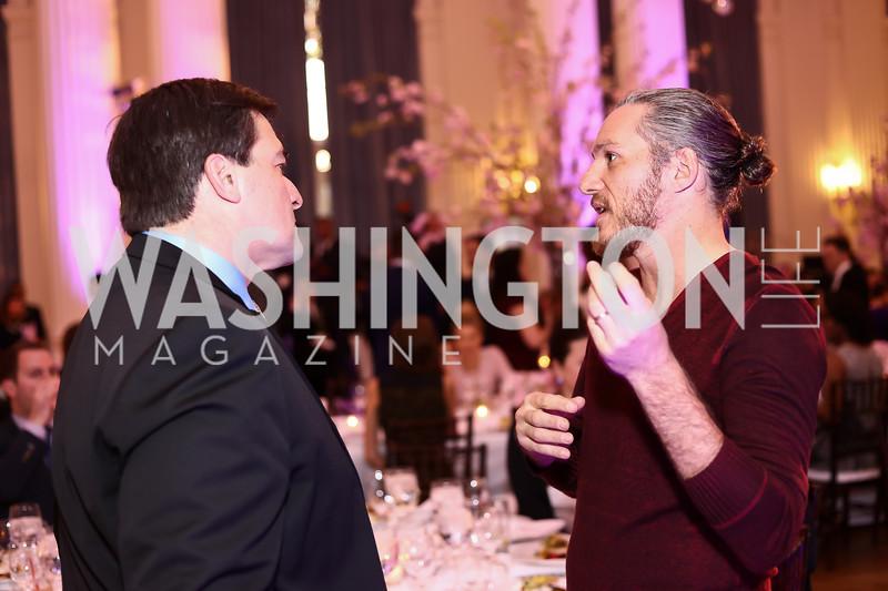 David White, Spike Mendelsohn. Photo by Tony Powell. 2016 McGovern-Dole Leadership Award. OAS. April 12, 2016