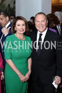 Nancy Pelosi, Michael Kors. Photo by Tony Powell. 2016 McGovern-Dole Leadership Award. OAS. April 12, 2016