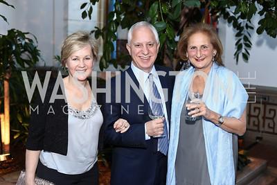 Deb Stokes, Jim Semivan, Beth Mendelson. Photo by Tony Powell. 2016 McGovern-Dole Leadership Award. OAS. April 12, 2016