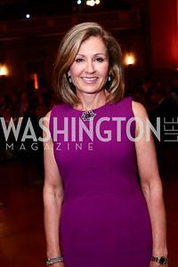 News4 Achor and Emcee Doreen Gentzler. Photo by Tony Powell. 2016 NRH Gala. Mellon Auditorium. April 20, 2016