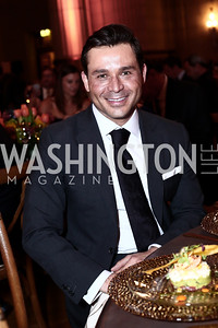 Antonio Alves. Photo by Tony Powell. 2016 NRH Gala. Mellon Auditorium. April 20, 2016
