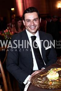 Antonio Alves. Photo by Tony Powell. 2016 NRH Gala. Mellon Auditorium. April 20, 2016
