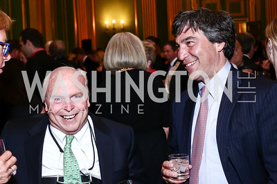 Robert Marsteller, Nick Pappas. Photo by Tony Powell. 2016 NRH Gala. Mellon Auditorium. April 20, 2016