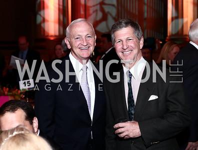 Sibley CEO Bob Sloane, Danny Korengold. Photo by Tony Powell. 2016 NRH Gala. Mellon Auditorium. April 20, 2016