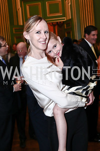 Julie Ritter and Adelaide Ritter. Photo by Tony Powell. 2016 NRH Gala. Mellon Auditorium. April 20, 2016