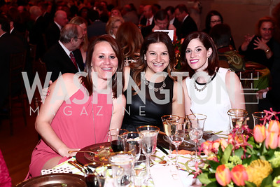 Kristi Hibbert, Missy Licata, Molly Holcombe. Photo by Tony Powell. 2016 NRH Gala. Mellon Auditorium. April 20, 2016
