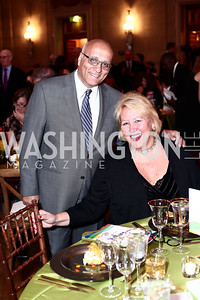 Rafik and Marsha Muawwad. Photo by Tony Powell. 2016 NRH Gala. Mellon Auditorium. April 20, 2016