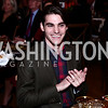 Breaking Bad actor and honoree RJ Mitte. Photo by Tony Powell. 2016 NRH Gala. Mellon Auditorium. April 20, 2016