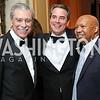 Sec. Carlos Gutierrez, Amb. Stuart Holliday, Sec. Alphonso Jackson. Photo by Tony Powell. 2016 Meridian Ball. October 14, 2016
