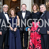 Portugal Amb. Domingos Vital and Isabel Vital, Tunisia Amb. Fayçal Gouia, Lala Abdurahimova and Azerbaijan Amb. Elin Suleymanov. Lala and Elin. Photo by Tony Powell. 2016 Meridian Ball. October 14, 2016