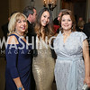 Edilia Gutierrez, Karina Gutierrez, Ana Navarro. Photo by Tony Powell. 2016 Meridian Ball. October 14, 2016