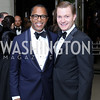 Jonathan Capehart and Nick Schmit. Photo by Tony Powell. 2016 Meridian Ball. October 14, 2016