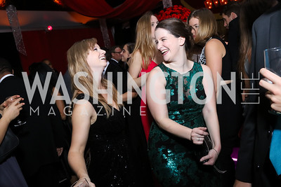 Megan Steindorf, Eirene O'Connor. Photo by Tony Powell. 2016 Meridian Ball. October 14, 2016