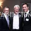 Tom Daschle, Richard Gere, Arne Sorenson. Photo by Tony Powell. 2016 N Street Village Gala. Ritz Carlton. March 15, 2016