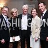 Tom and Linda Daschle, Richard Gere, Ruth and Arne Sorenson. Photo by Tony Powell. 2016 N Street Village Gala. Ritz Carlton. March 15, 2016