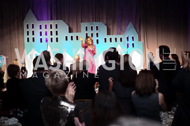 Singer Jennifer Holliday. Photo by Tony Powell. 2016 N Street Village Gala. Ritz Carlton. March 15, 2016