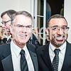 Dave Carpenter, Robert Adams. Photo by Tony Powell. NEA Foundation Gala. Building Museum. February 12, 2016
