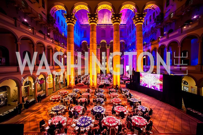 Photo by Tony Powell. NEA Foundation Gala. Building Museum. February 12, 2016
