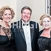 Katherine and Roy Bishop, Debra McDonald. Photo by Tony Powell. NEA Foundation Gala. Building Museum. February 12, 2016