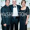 Esai Morales, John Stocks, Crystal Brown. Photo by Tony Powell. NEA Foundation Gala. Building Museum. February 12, 2016