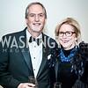 Gary and MaryBeth Phoebus. Photo by Tony Powell. NEA Foundation Gala. Building Museum. February 12, 2016