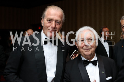 Fabrizio Tomada, Enzo De Chiara. Photo by Tony Powell. 2016 NIAF Gala. Marriott Wardman Park. October 15, 2016