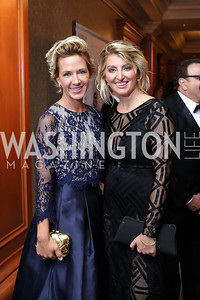 Erin McCloskey, Maria Concetta Cilluffo. Photo by Tony Powell. 2016 NIAF Gala. Marriott Wardman Park. October 15, 2016