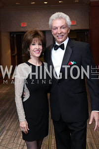 Deana Martin and John Griffeth. Photo by Tony Powell. 2016 NIAF Gala. Marriott Wardman Park. October 15, 2016