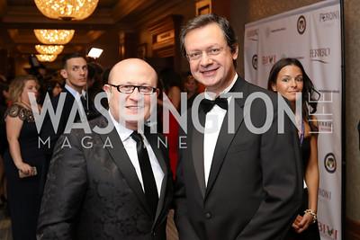 Franco Nuschese, Paolo Mastrolilli. Photo by Tony Powell. 2016 NIAF Gala. Marriott Wardman Park. October 15, 2016