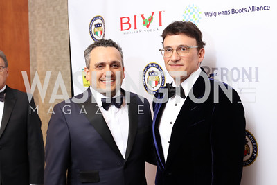 Directors Joseph and Anthony Russo. Photo by Tony Powell. 2016 NIAF Gala. Marriott Wardman Park. October 15, 2016