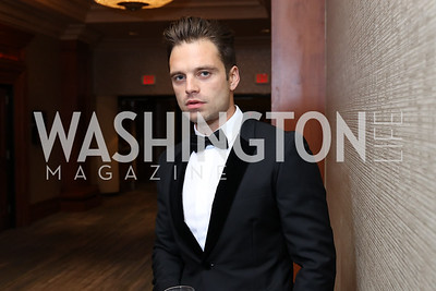Sebastian Stan. Photo by Tony Powell. 2016 NIAF Gala. Marriott Wardman Park. October 15, 2016