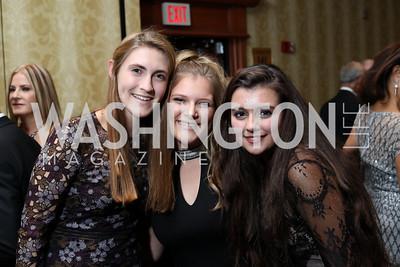 Haley Grove, Gigi McBride, Allison La Rocca. Photo by Tony Powell. 2016 NIAF Gala. Marriott Wardman Park. October 15, 2016
