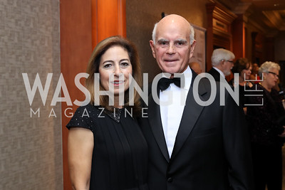 Lisa and Sal Salibello. Photo by Tony Powell. 2016 NIAF Gala. Marriott Wardman Park. October 15, 2016