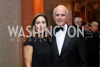 Lisa and Sal Salibello. Photo by Tony Powell. 2016 NIAF Gala. Marriott Wardman Park. October 15, 2016