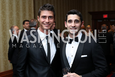 Alessandro Volonte, Raffaele Cicala. Photo by Tony Powell. 2016 NIAF Gala. Marriott Wardman Park. October 15, 2016