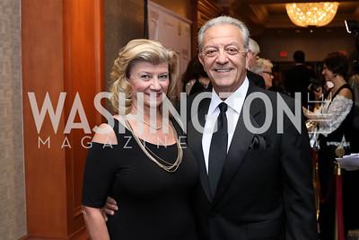 Nancy and Angelo Cassaro. Photo by Tony Powell. 2016 NIAF Gala. Marriott Wardman Park. October 15, 2016