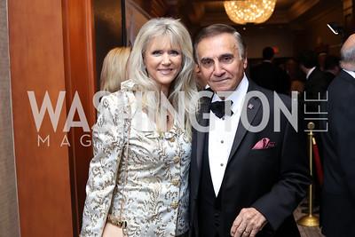 Alyse and Tony Lo Bianco. Photo by Tony Powell. 2016 NIAF Gala. Marriott Wardman Park. October 15, 2016