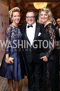 Erin McCloskey, Art Furia, Maria Concetta Cilluffo. Photo by Tony Powell. 2016 NIAF Gala. Marriott Wardman Park. October 15, 2016