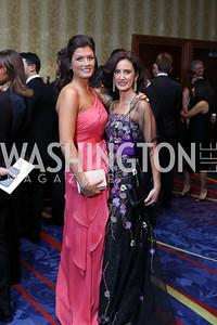 Ilaria Macchi, Dr. Mina Massaro-Giordano. Photo by Tony Powell. 2016 NIAF Gala. Marriott Wardman Park. October 15, 2016