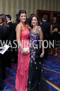 Ilaria Macchi, Dr. Mina Massaro-Giordano. Photo by Tony Powell. 2016 NIAF Gala. Marriott Wardman Park. October 15, 2016