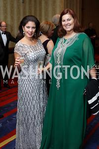Sandra Klebanoff, Patrizia Marin. Photo by Tony Powell. 2016 NIAF Gala. Marriott Wardman Park. October 15, 2016