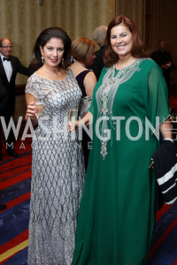 Sandra Klebanoff, Patrizia Marin. Photo by Tony Powell. 2016 NIAF Gala. Marriott Wardman Park. October 15, 2016