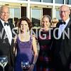 Sec. Jeh Johnson, Eliana Davidson, Susan DiMarco, Larry Burgess. Photo by Tony Powell. 2016 NSO Gala. Kennedy Center. September 25, 2016