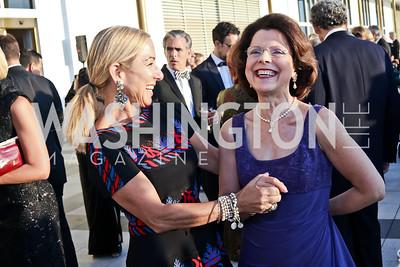 Susan DiMarco, Eliana Davidson. Photo by Tony Powell. 2016 NSO Gala. Kennedy Center. September 25, 2016