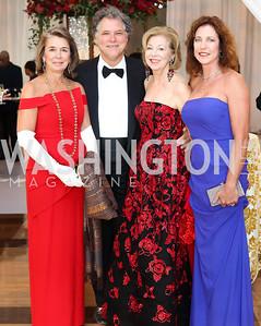 Cissy Viebramz, Donald Elliott, Terry Thompson, Gail Elliott. Photo by Tony Powell. 2016 NSO Gala. Kennedy Center. September 25, 2016