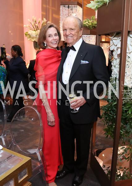 Eden Rafshoon, George Stevens. Photo by Tony Powell. 2016 NSO Gala. Kennedy Center. September 25, 2016