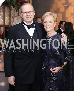 Stuart and Ann Stock. Photo by Tony Powell. 2016 NSO Gala. Kennedy Center. September 25, 2016