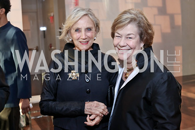 Jill Udall, Elizabeth Lodal. Photo by Tony Powell. 2016 NSO Gala. Kennedy Center. September 25, 2016
